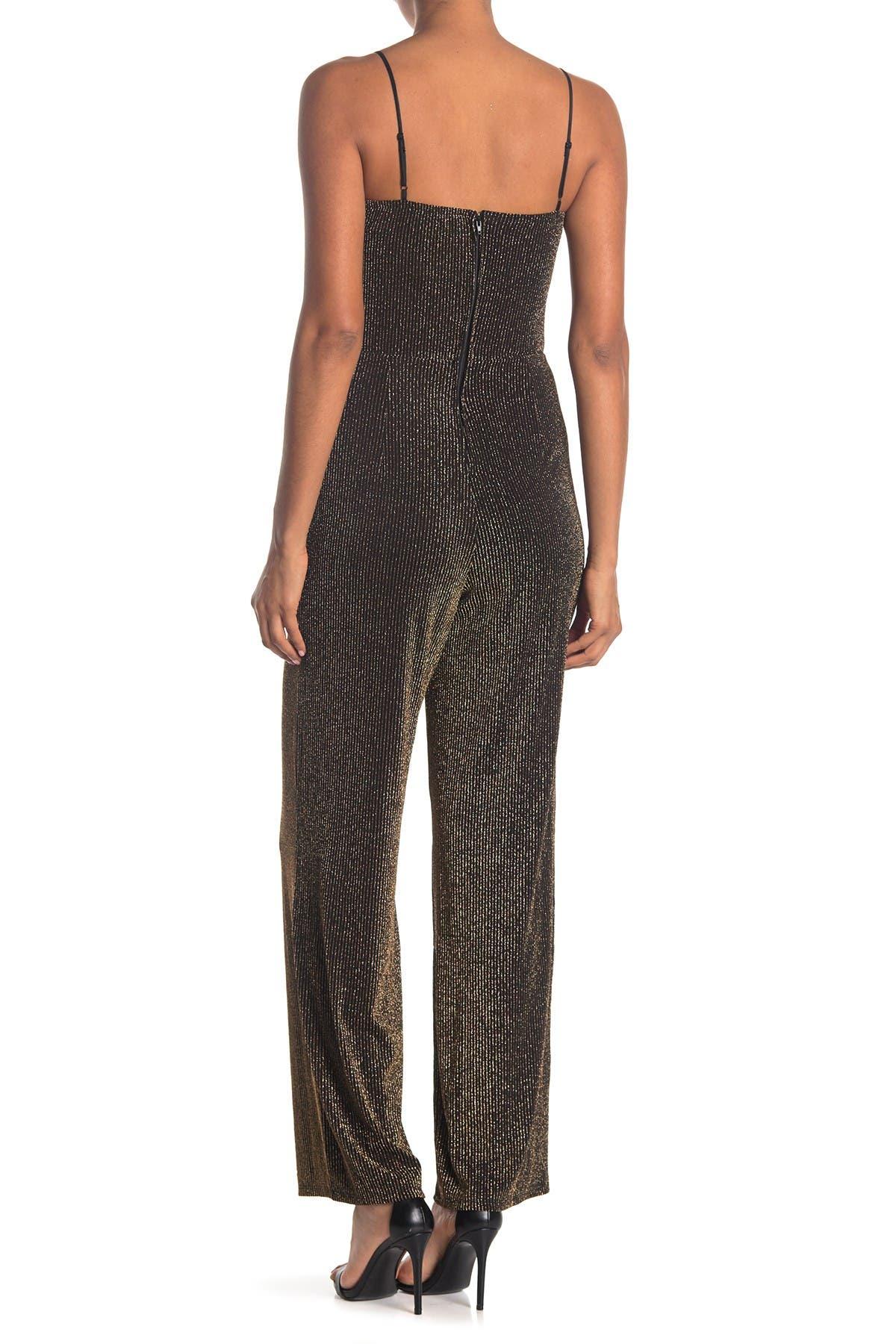 Image of ROW A Glitter Sleeveless Jumpsuit