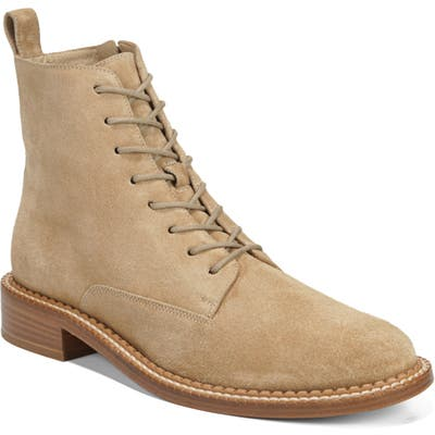 Vince Cabria Lace-Up Boot- Beige