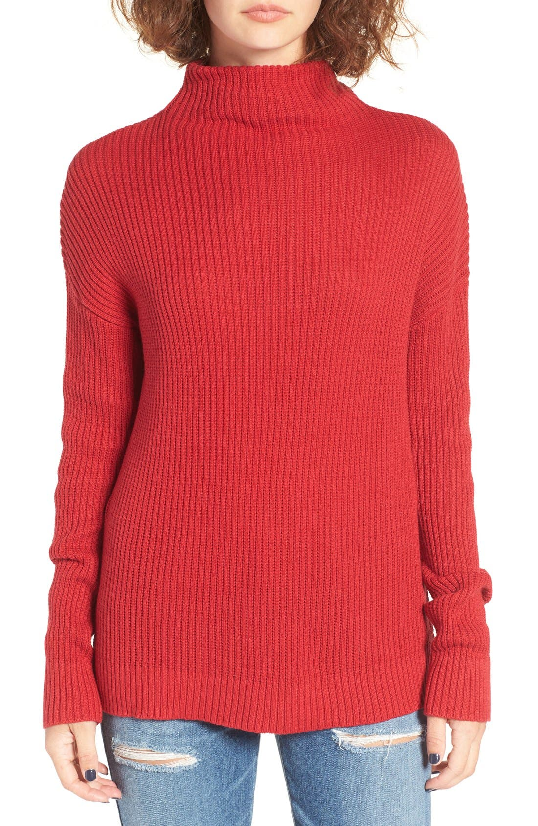 ,                             Mock Neck Sweater,                             Main thumbnail 31, color,                             610