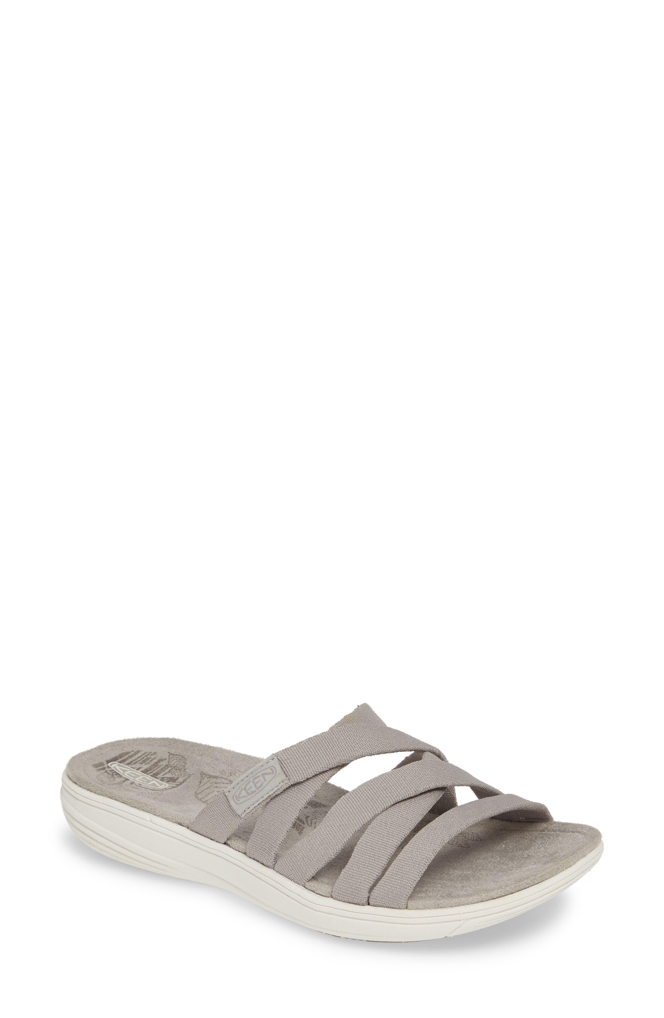 Keen Damaya Slide Sandal, Grey