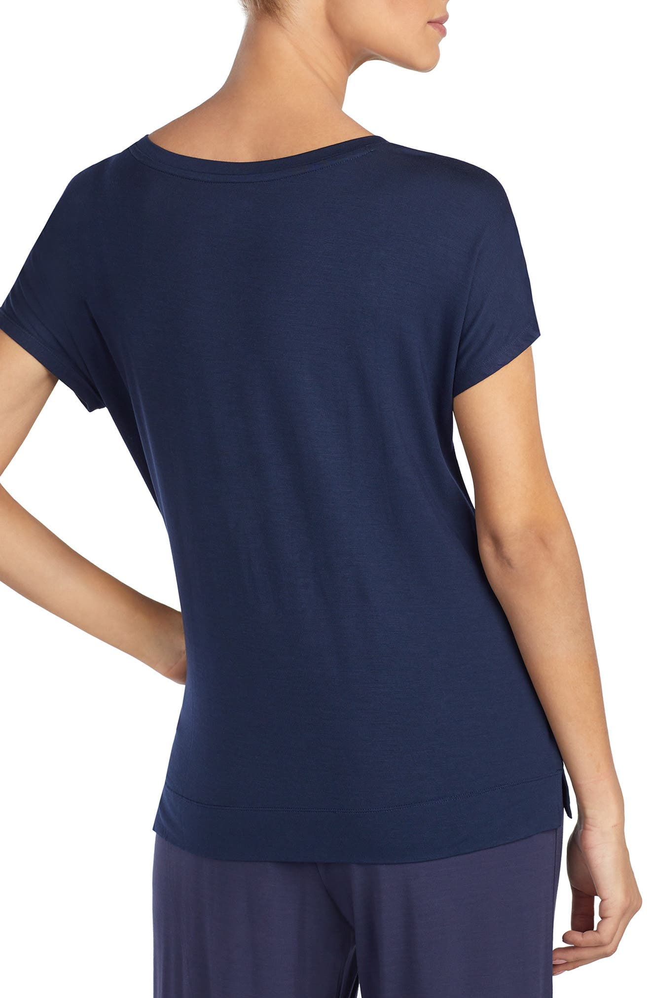 ,                             Pajama Tee,                             Alternate thumbnail 2, color,                             NAVY