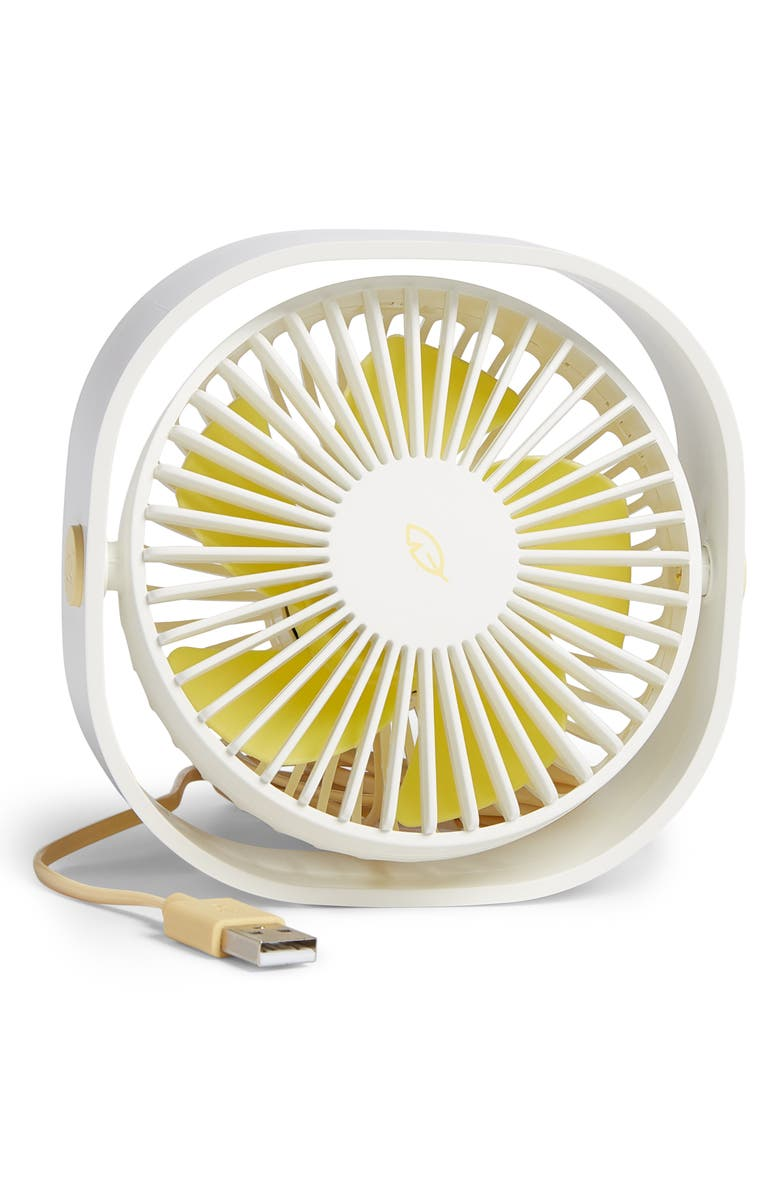 QUSHINI USB Cable Mini Desktop Fan, Main, color, 100