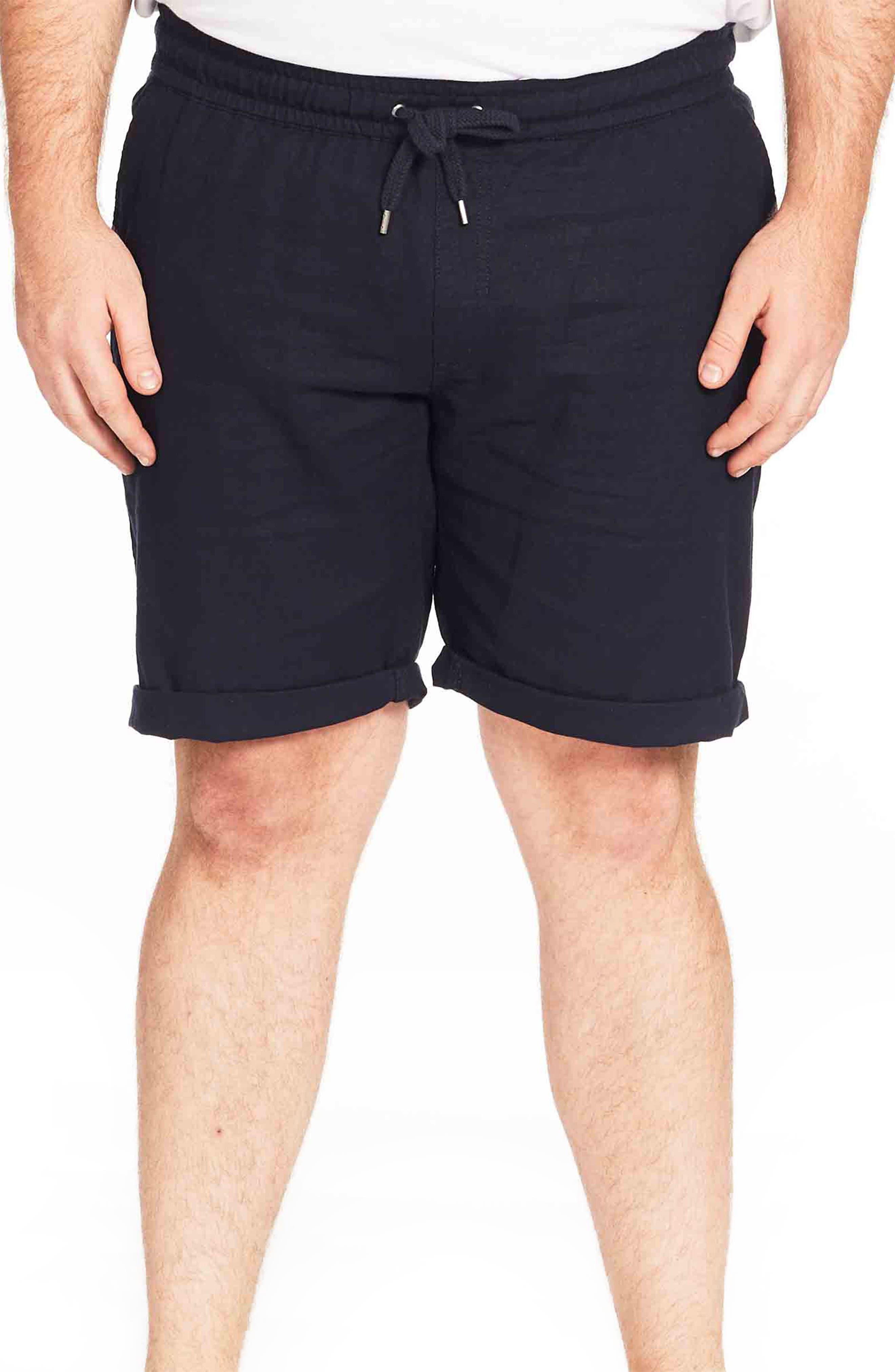 Byron Cotton & Linen Drawstring Shorts