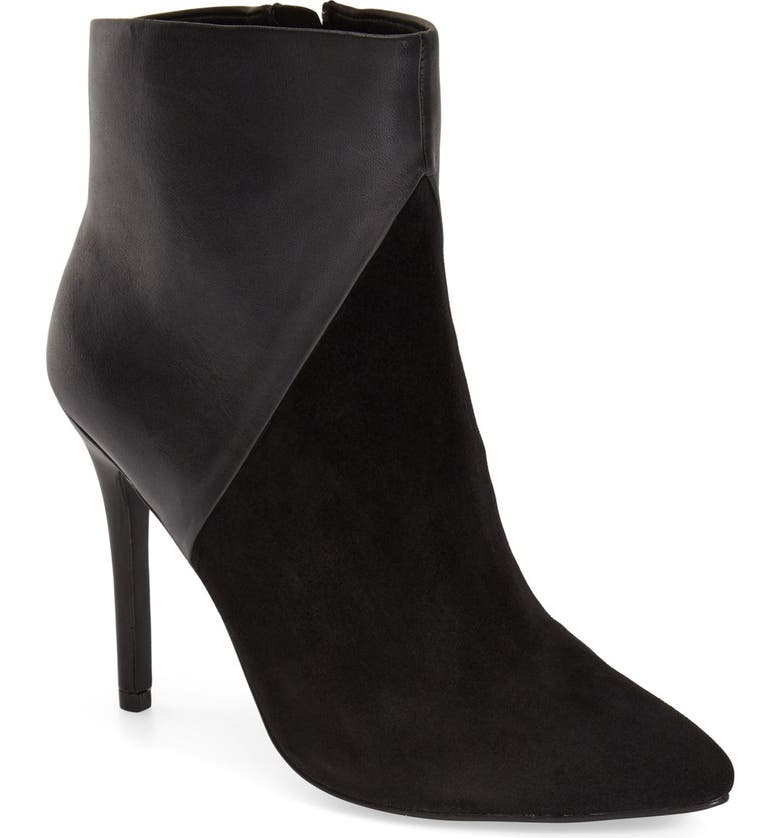 CHARLES BY CHARLES DAVID 'Pine' Pointy Toe Bootie, Main, color, 001