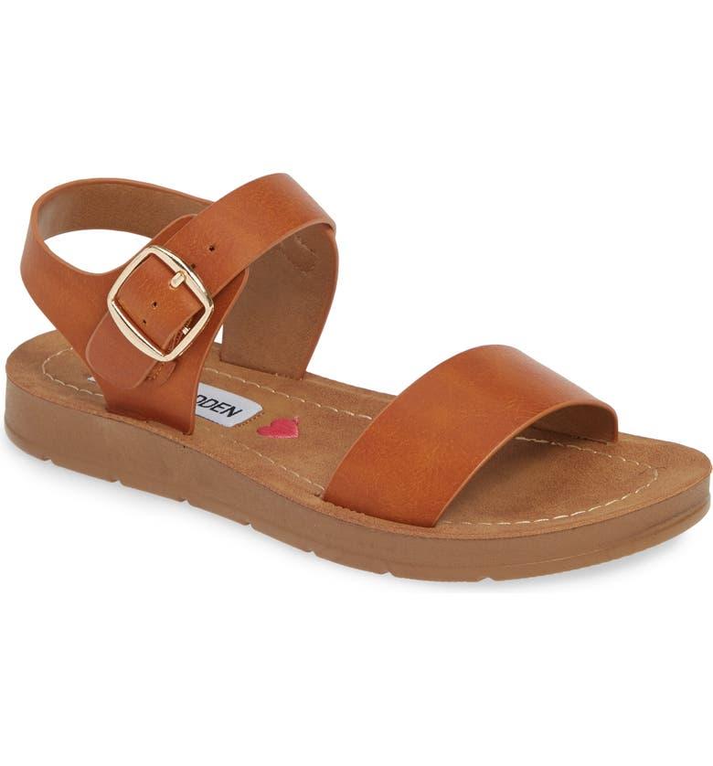 STEVE MADDEN JProbler Platform Sandal, Main, color, COGNAC