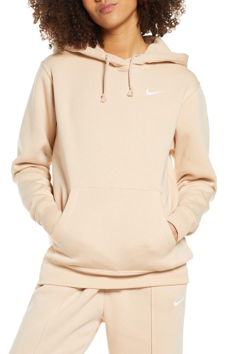 NIKE Sportswear Essential Pullover Fleece Hoodie, Main, color, 287