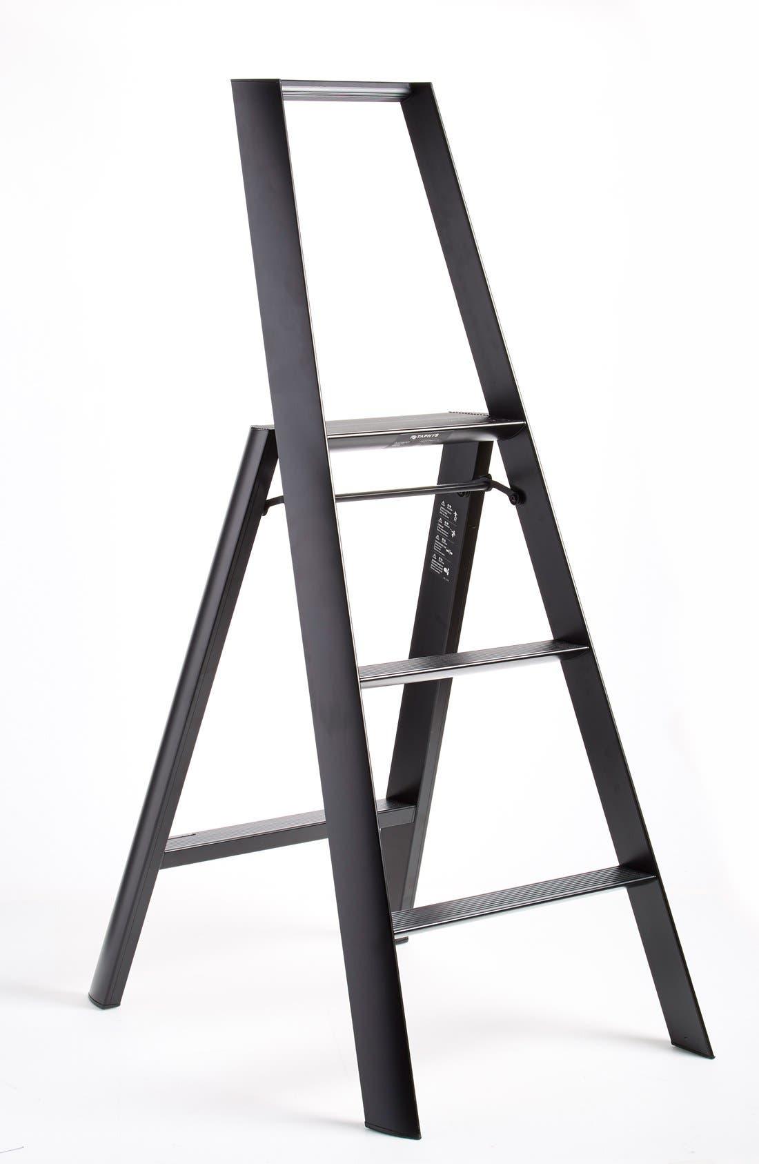 White Hasegawa Ladders Lucano Stepladder 3 Step
