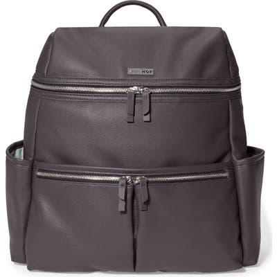Skip Hop Flatiron Faux Leather Diaper Backpack -