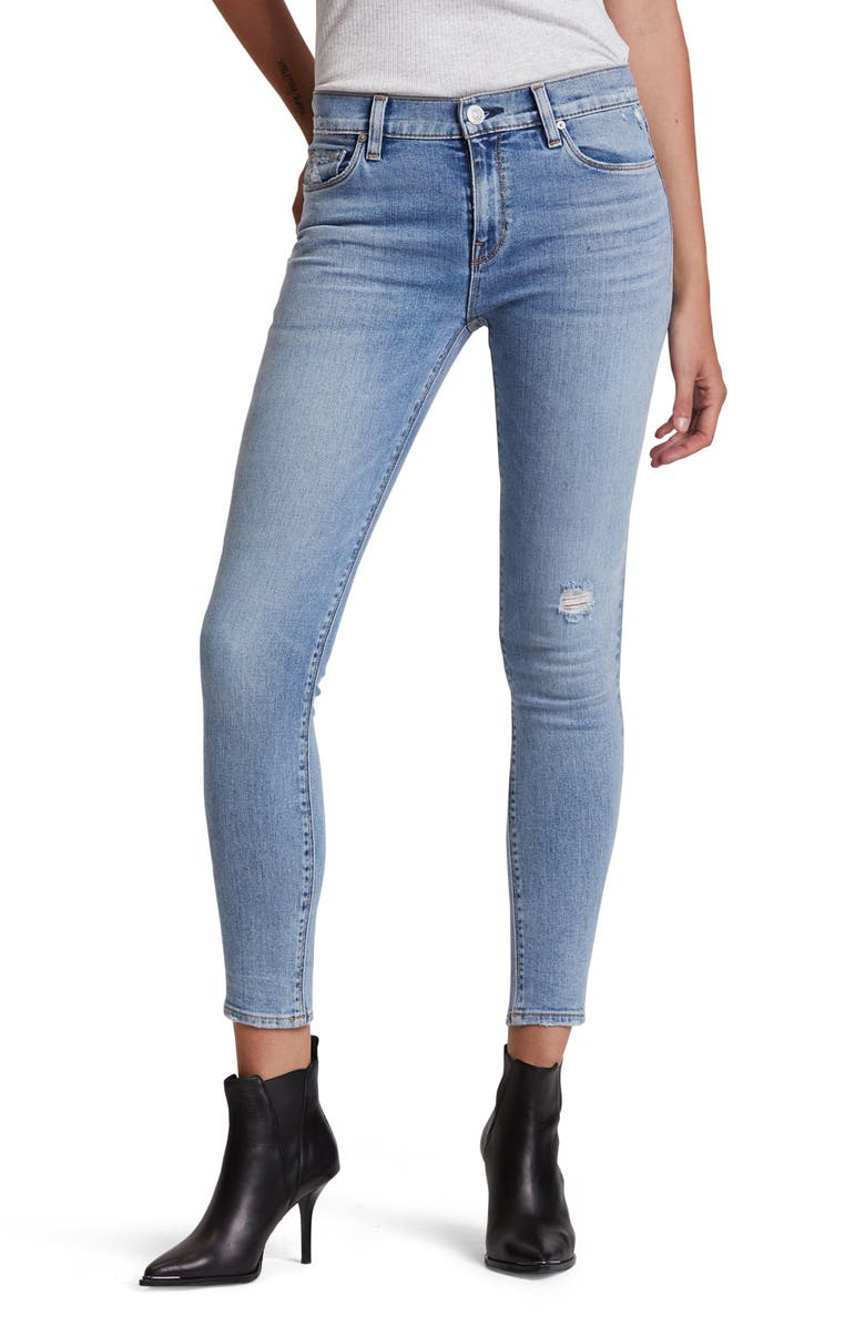 HUDSON JEANS Nico Ankle Skinny Jeans, Main, color, EXCHANGE