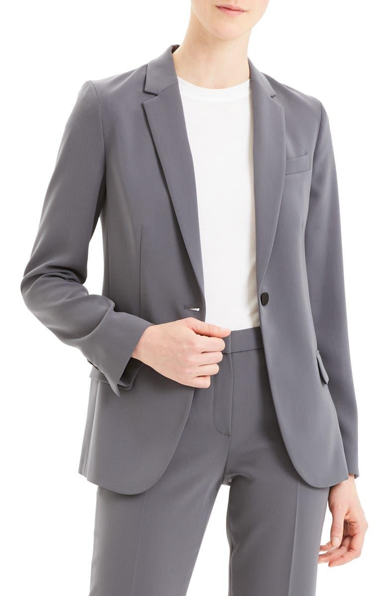 THEORY Classic Staple Blazer, Main, color, DEEP SLATE