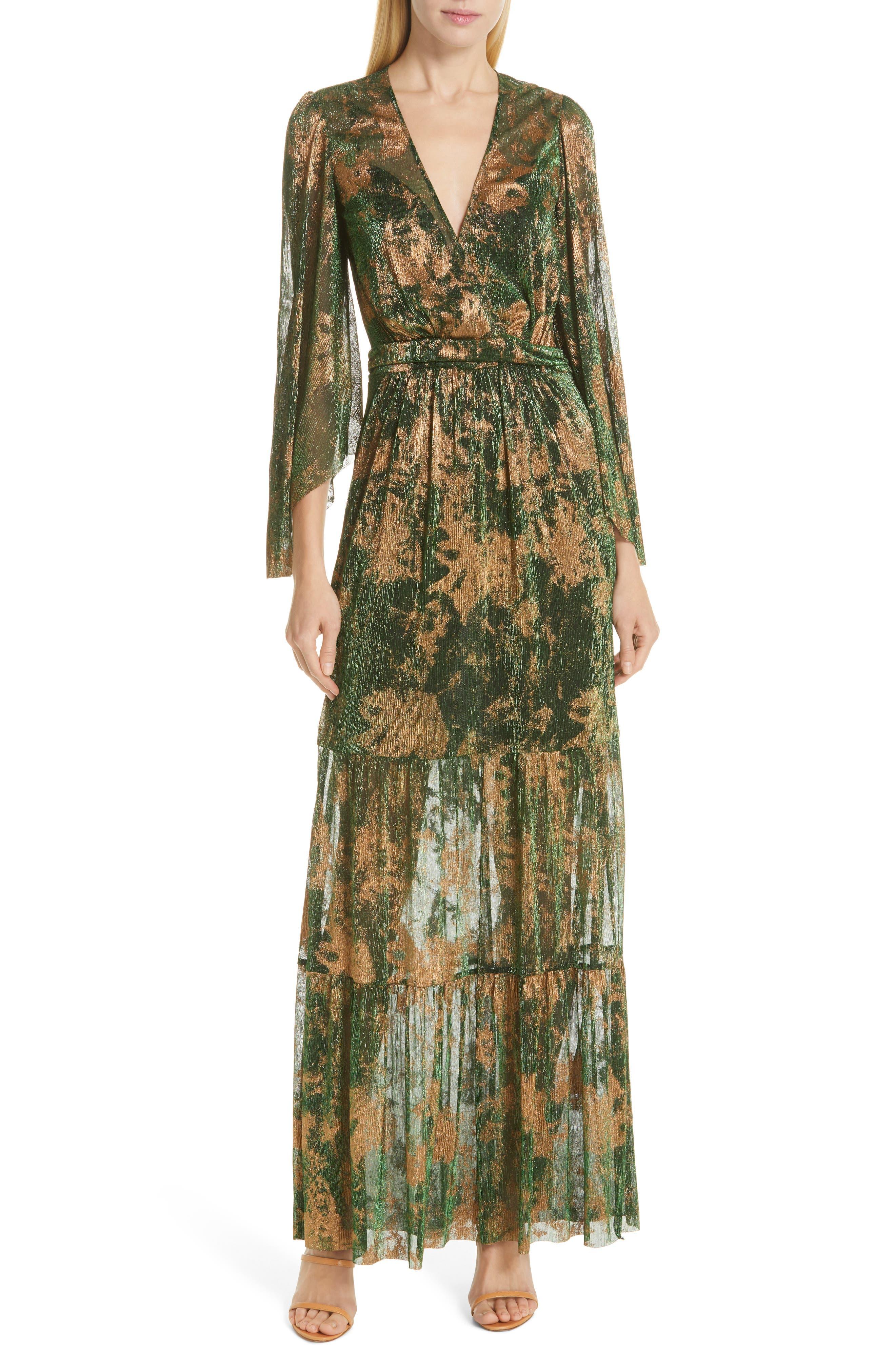 Ba & sh Vianca Maxi Dress, Green