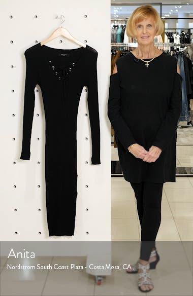 Tamsin Long Sleeve Sweater Dress, sales video thumbnail