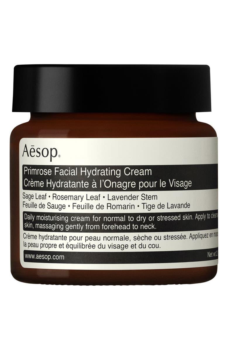 AESOP Primrose Facial Hydrating Cream, Main, color, NONE