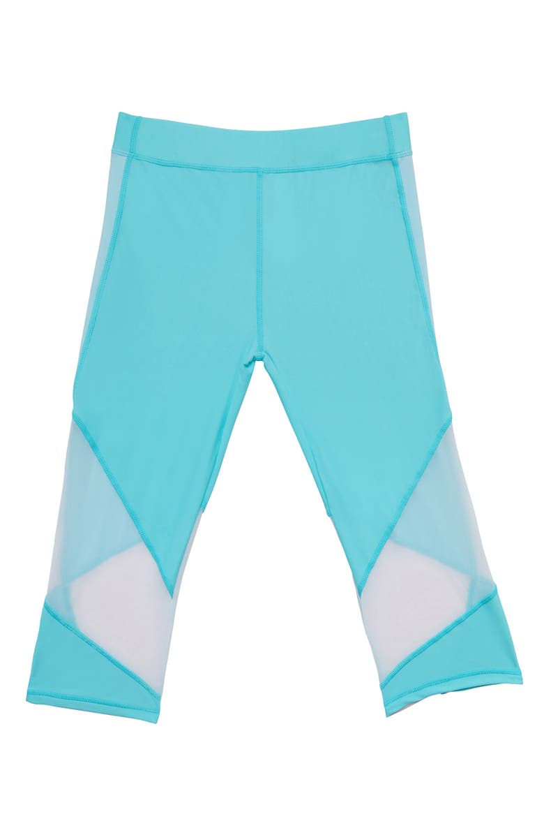GOSSIP GIRL Summer Mesh Trim Cover-Up Pants, Main, color, 400