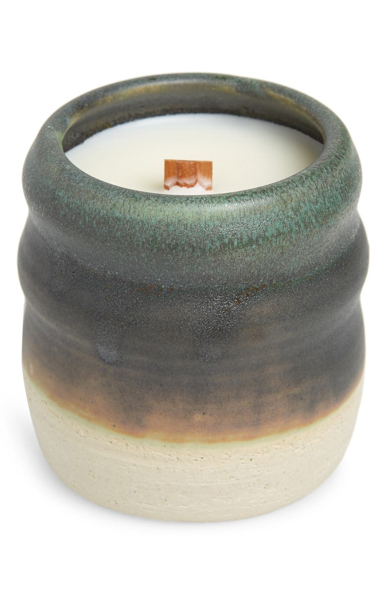 COZIER Nomad Sandalwood & Amber Candle, Main, color, GREY