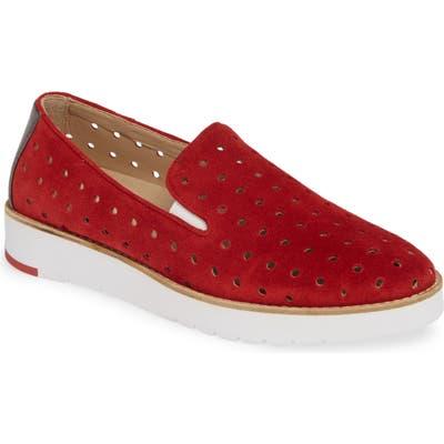 Johnston & Murphy Penelope Perforated Slip-On Sneaker