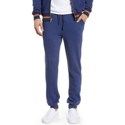 Aviator Nation Prism Slim Fit Sweatpants, Blue