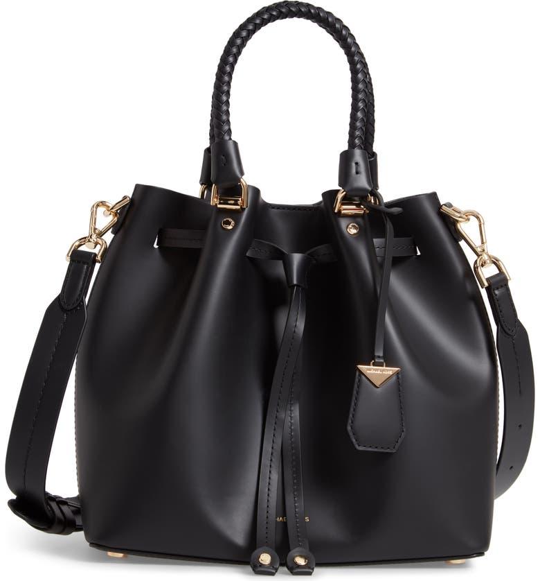 Blakely Leather Bucket Bag