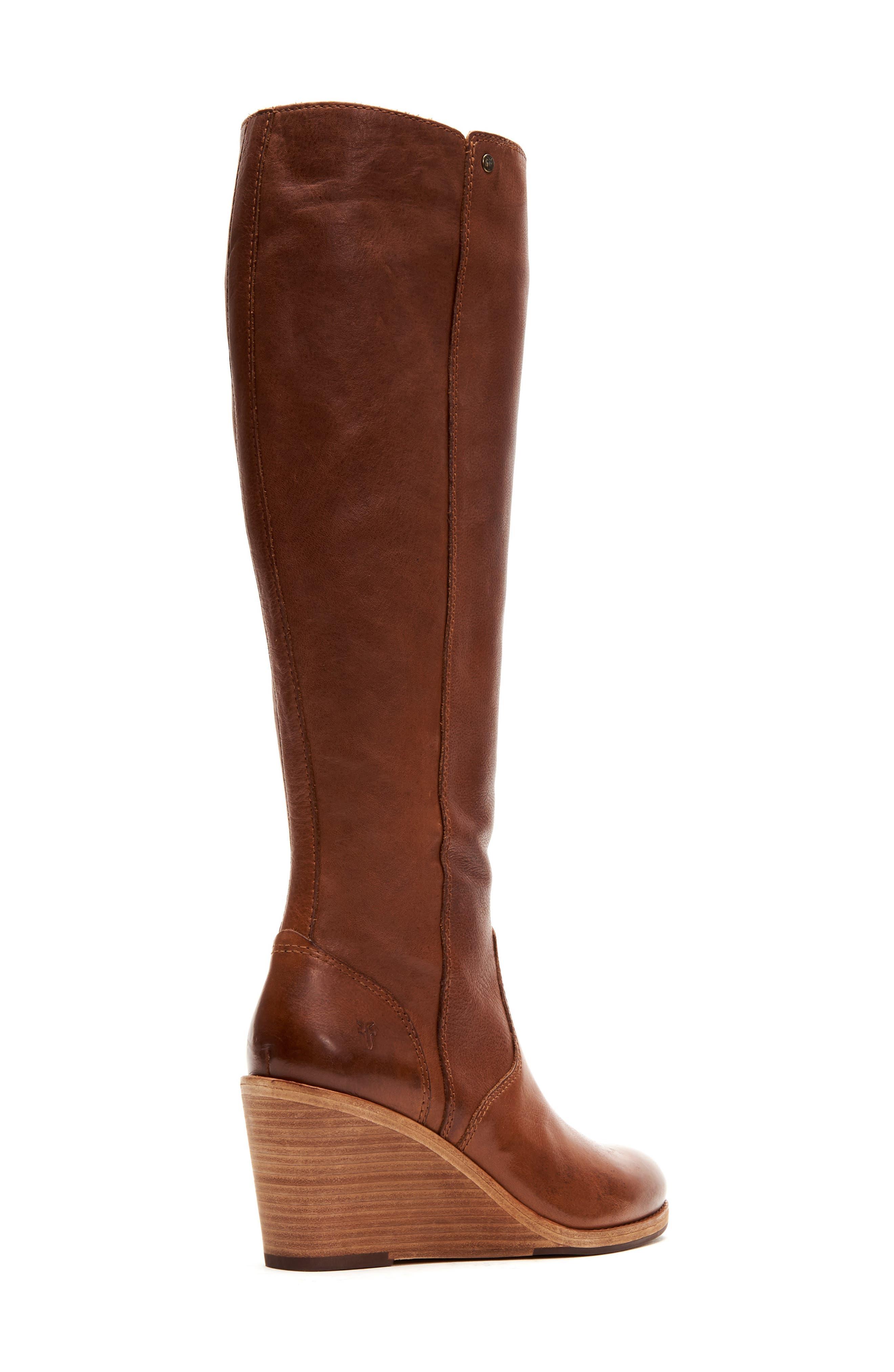 Frye | Emma Knee High Wedge Boot
