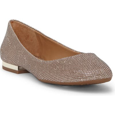 Jessica Simpson Ginly Ballet Flat, Metallic