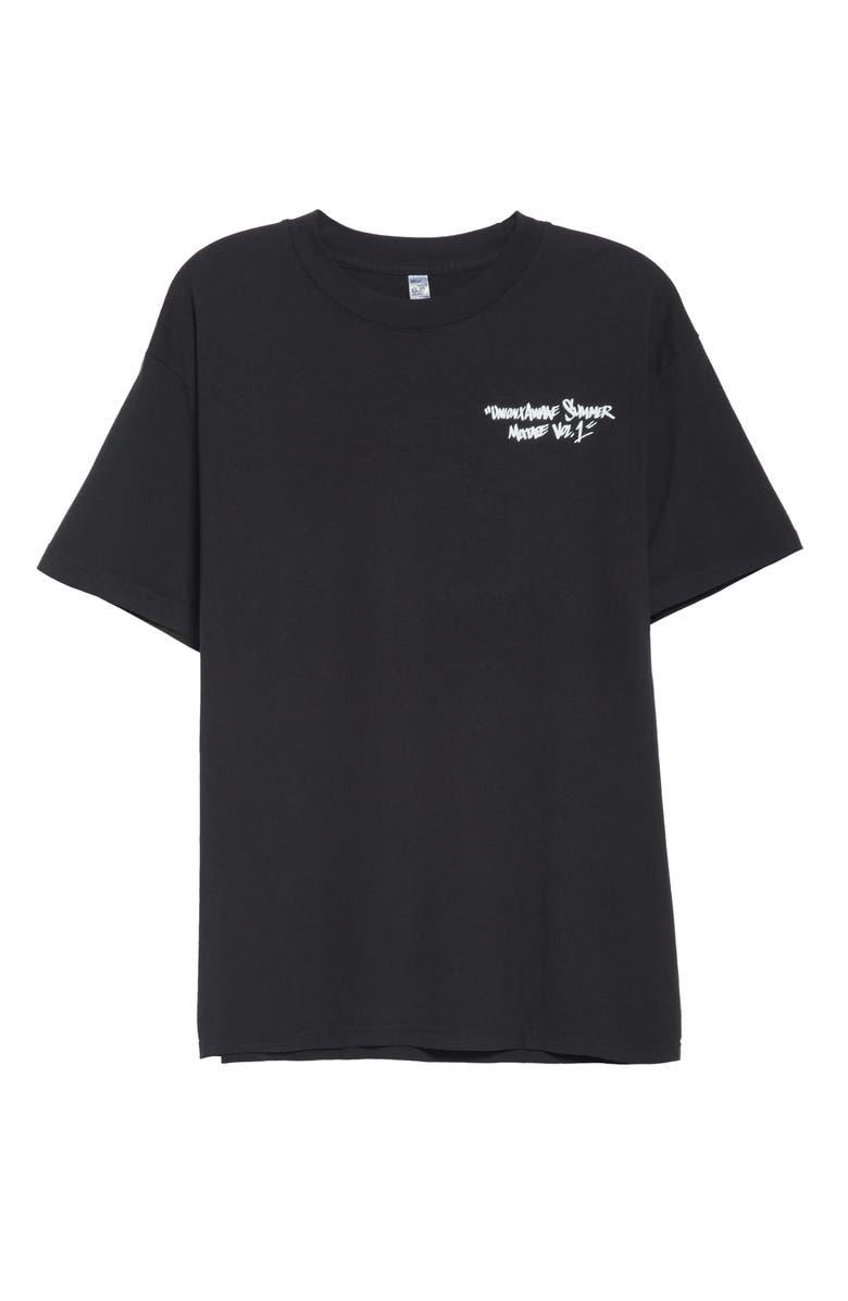 AWAKE NY Union x Awake NY Cassette Graphic T-Shirt, Main, color, BLACK