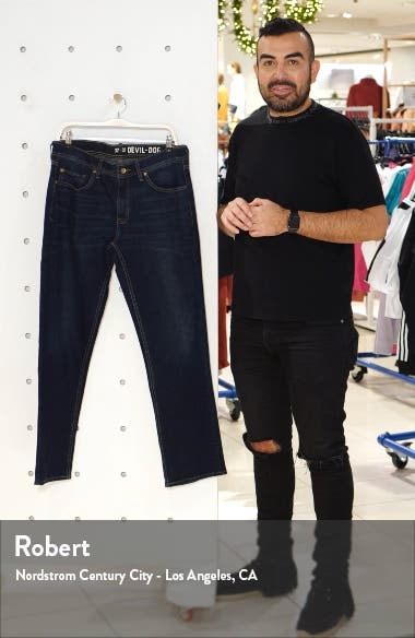 Straight Fit Performance Stretch Jeans, sales video thumbnail