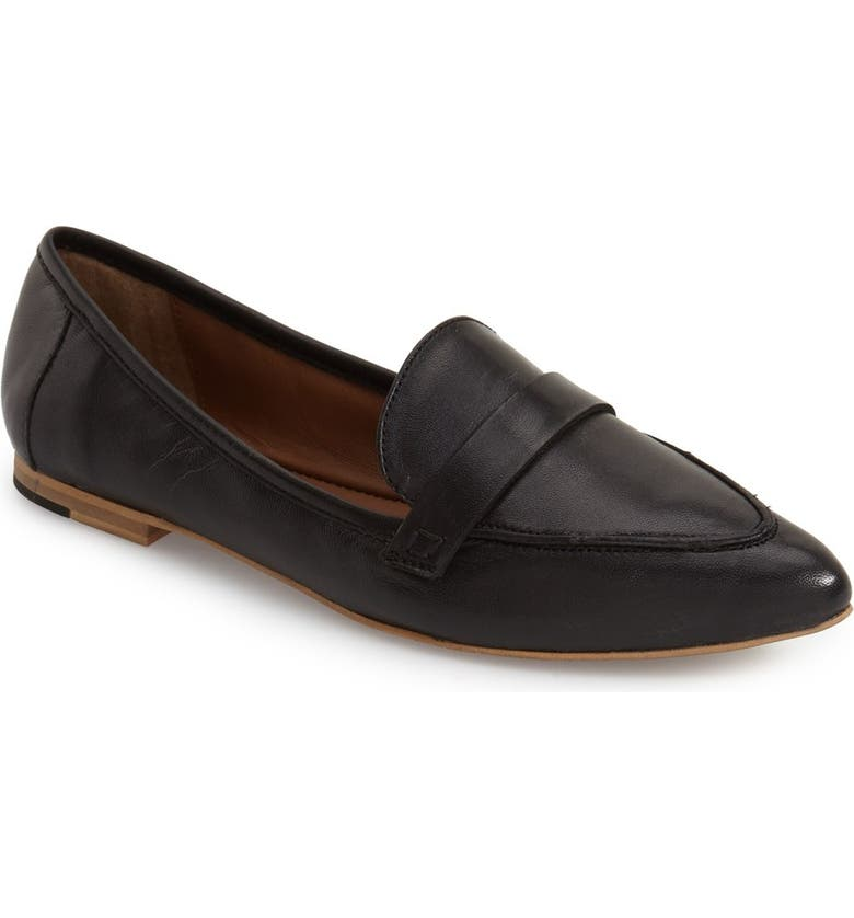 TOPSHOP Kimi Loafer, Main, color, 001