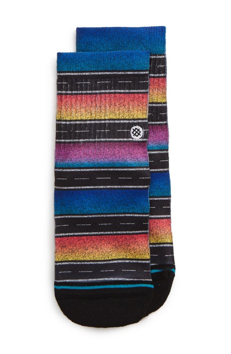 STANCE Sierras Stripe Socks, Main, color, 001