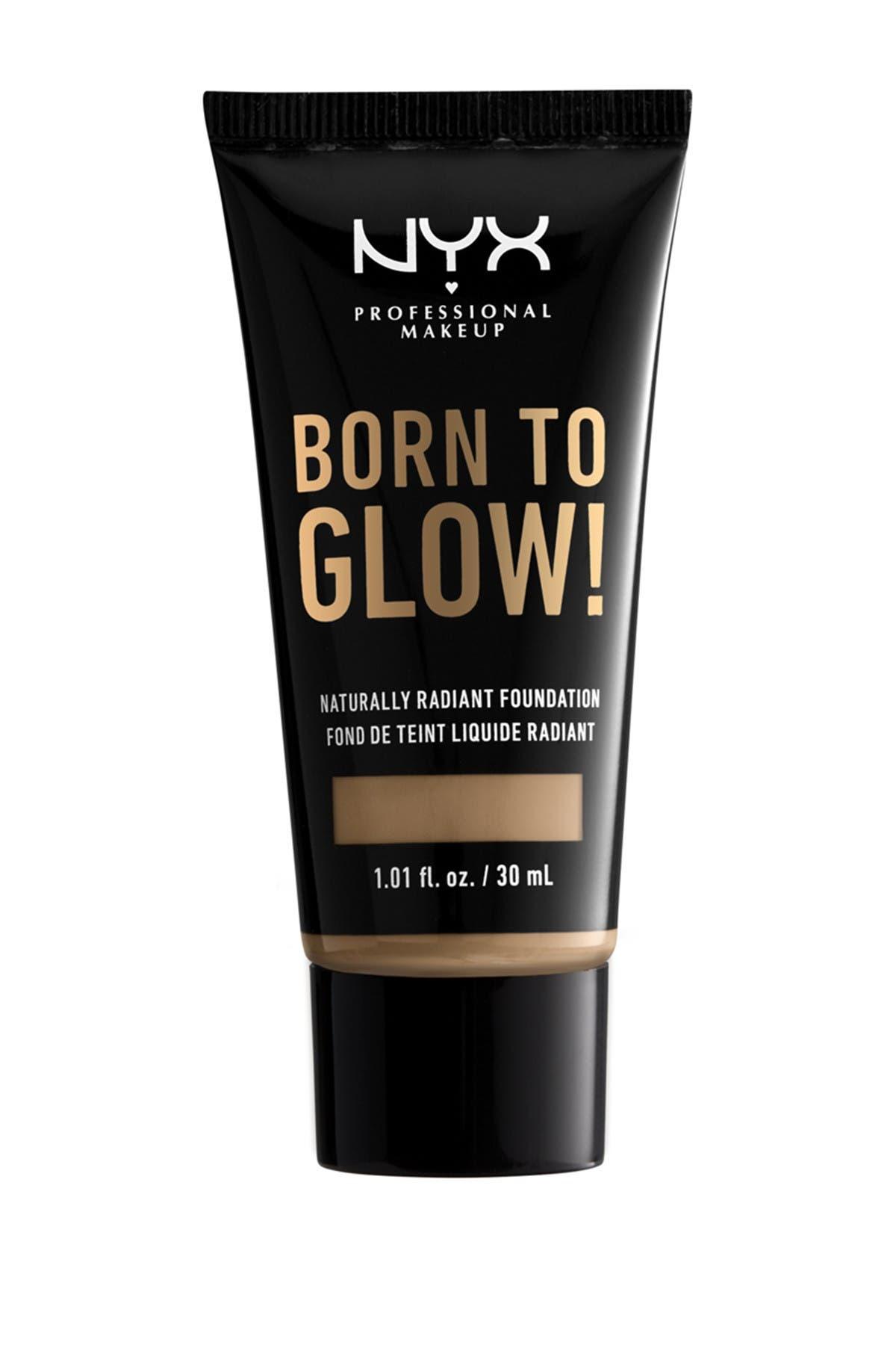 Image of NYX COSMETICS Born To Glow Medium Coverage Naturally Radiant Foundation - Caramel