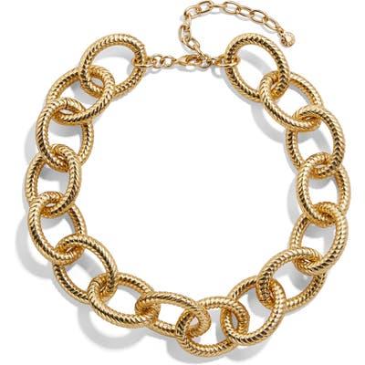 Baublebar Alexa Large Link Collar Necklace