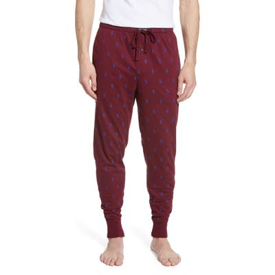 Polo Ralph Lauren Cotton Pajama Pants, Burgundy