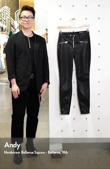 Faux Leather Skinny Pants, sales video thumbnail