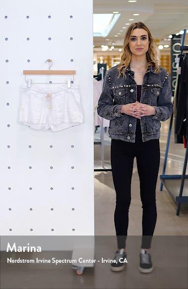 'Oceanside' Linen Blend Shorts, sales video thumbnail