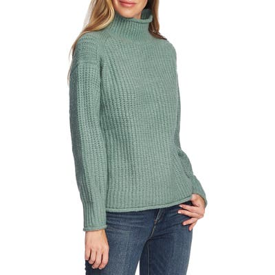 Vince Camuto Mock Neck Sweater, Green