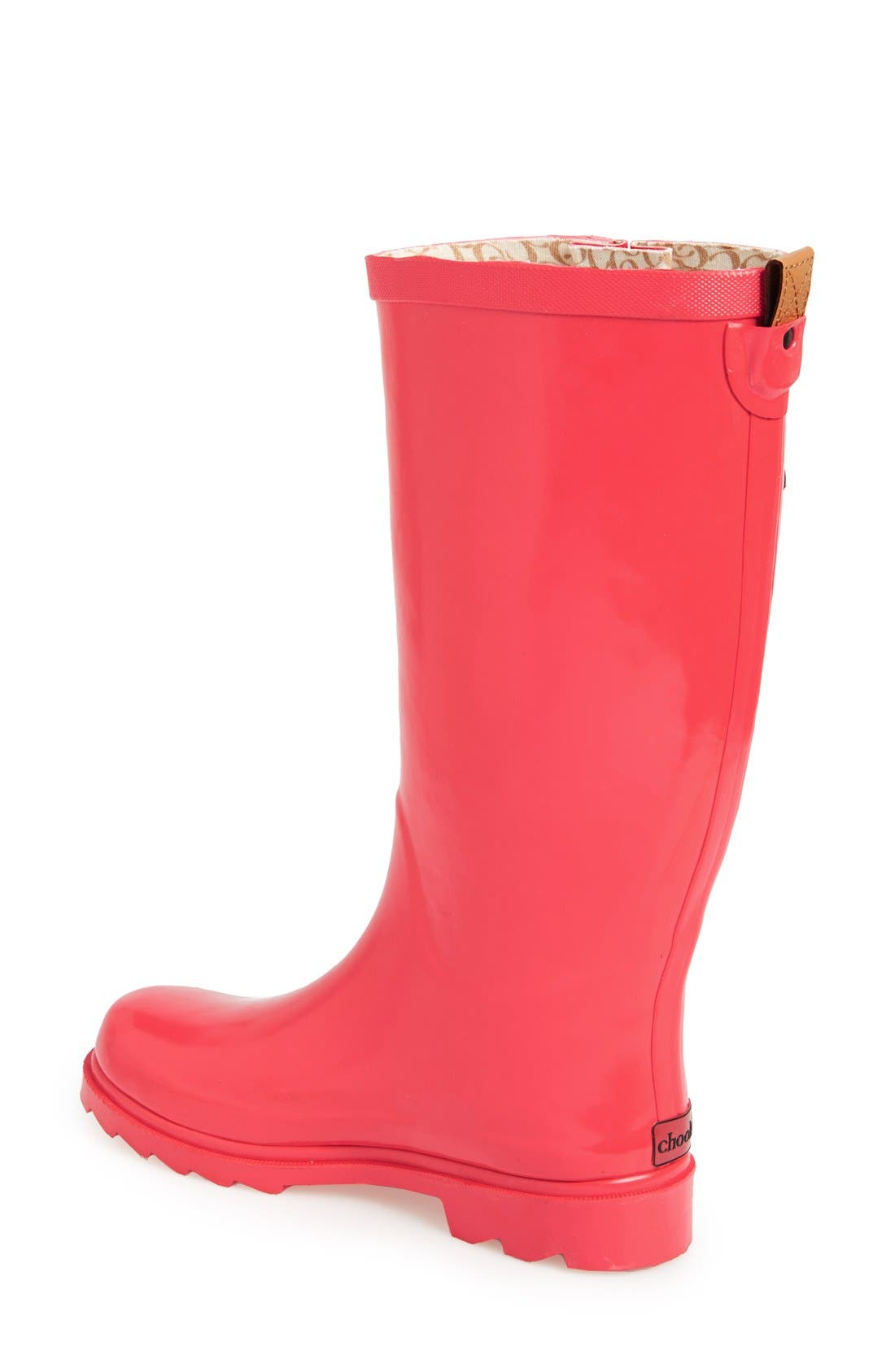 ,                             'Top Solid' Rain Boot,                             Alternate thumbnail 135, color,                             661