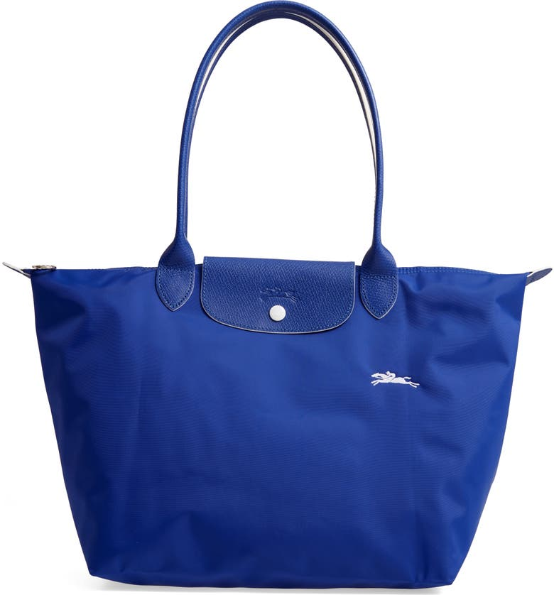 LONGCHAMP Le Pliage Club Tote, Main, color, COBALT