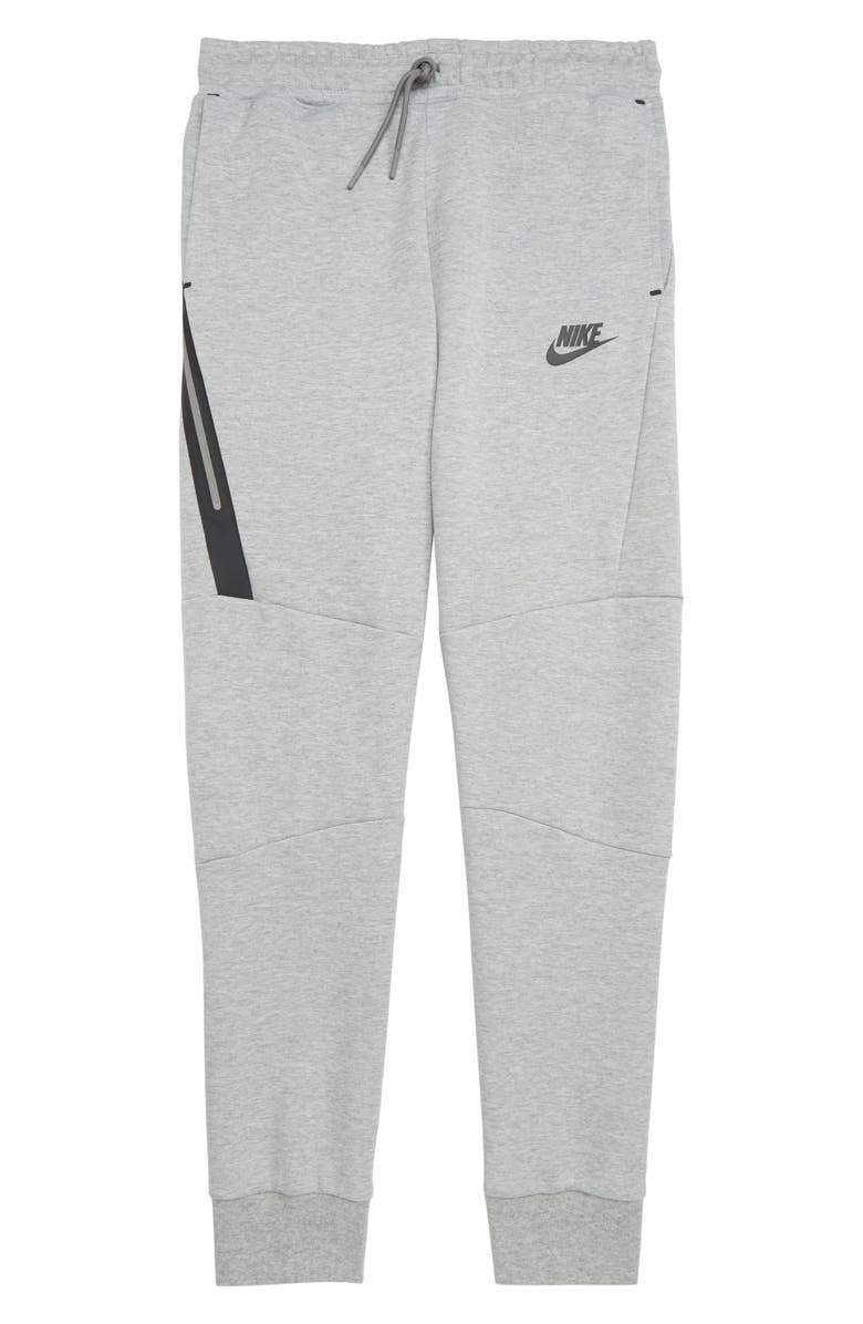 NIKE Tech Fleece Pants, Main, color, DARK GREY HEATHER/ BLACK