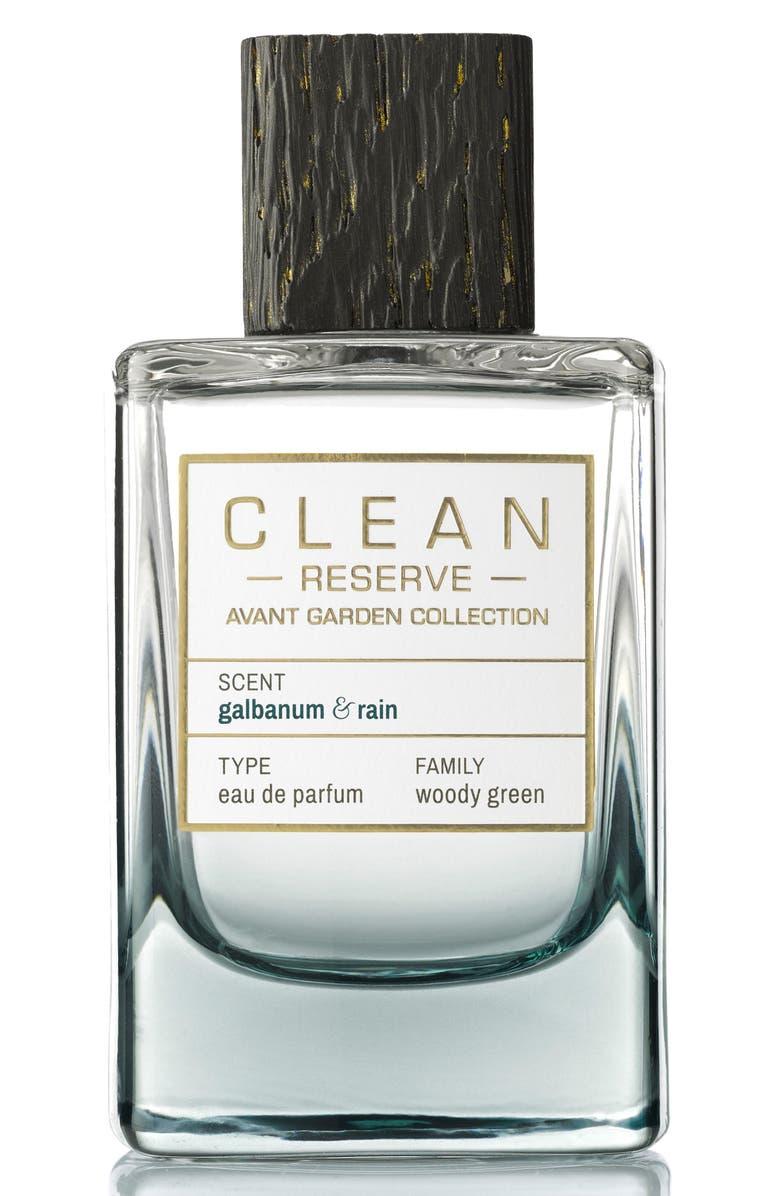 CLEAN RESERVE Avant Garden Galbanum & Rain Eau de Parfum, Main, color, 000