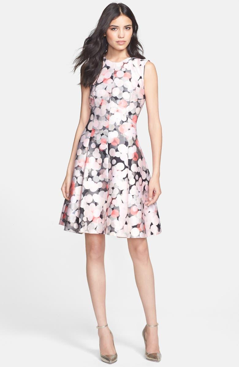 KATE SPADE NEW YORK 'emma' fit & flare dress, Main, color, 650