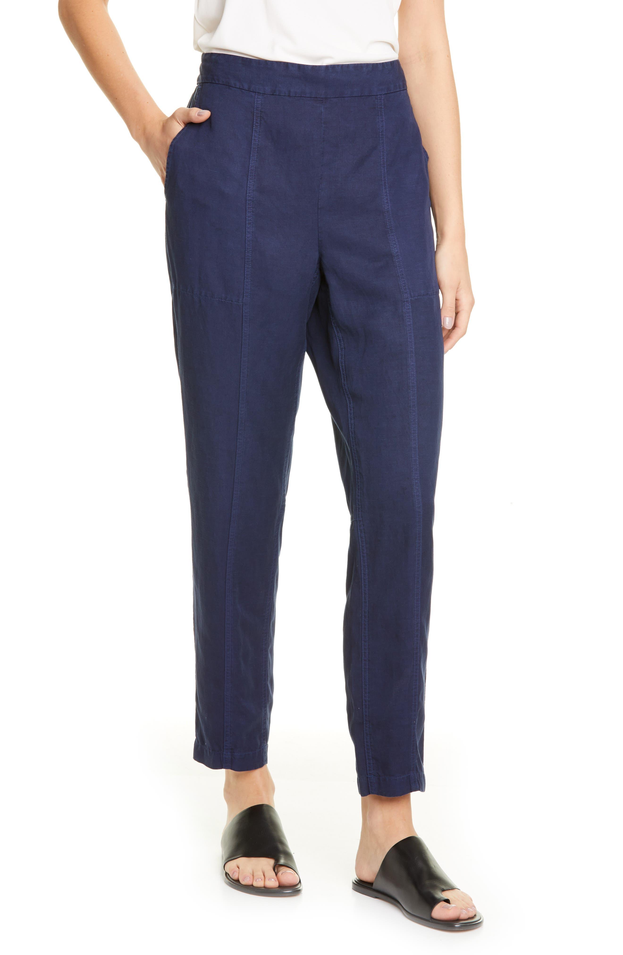 Eileen Fisher Ankle Pants (Regular & Petite)