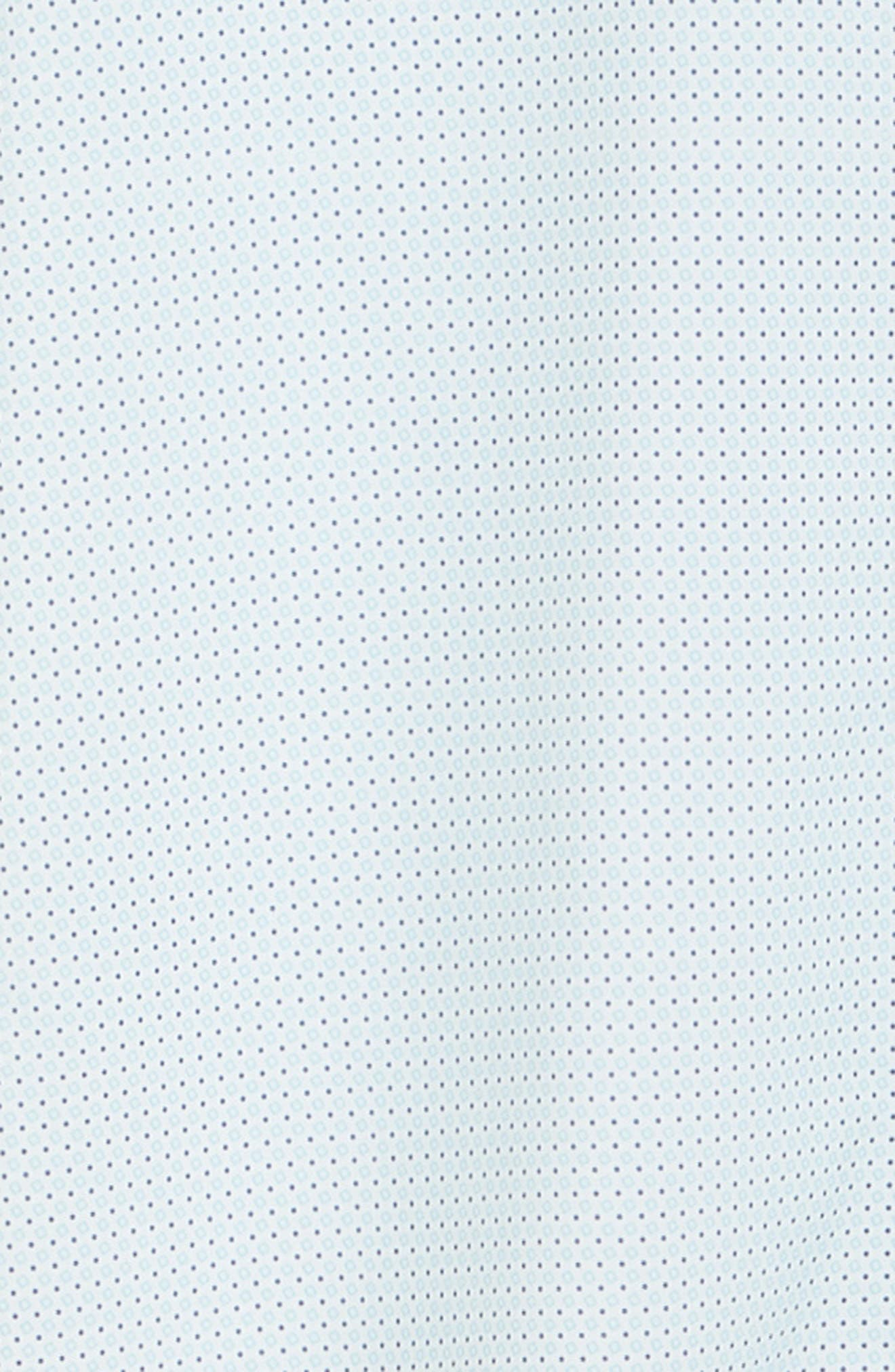 ,                             Burton Trim Fit Dot Print Performance Sport Shirt,                             Alternate thumbnail 6, color,                             BLUE