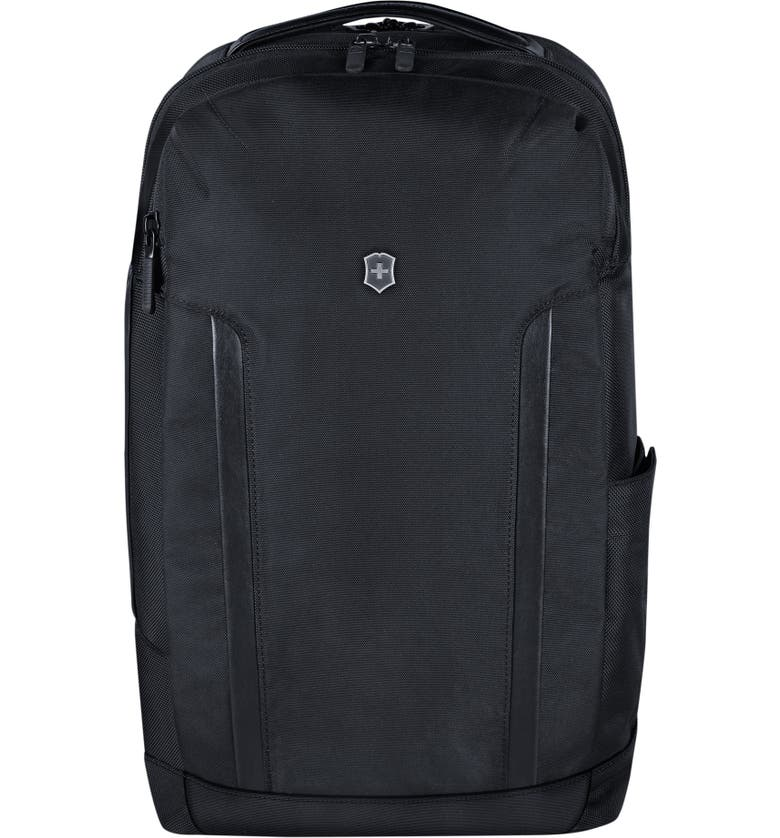 VICTORINOX SWISS ARMY<SUP>®</SUP> Alpine Deluxe Travel Laptop Backpack, Main, color, BLACK