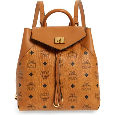 Mcm Essential Visetos Original Small Backpack -