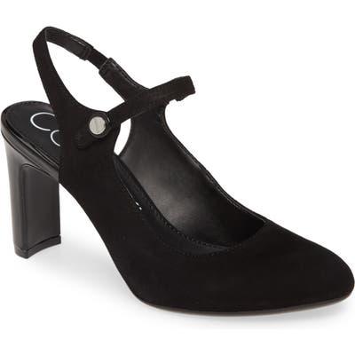 Calvin Klein Omaha Slingback Pump- Black