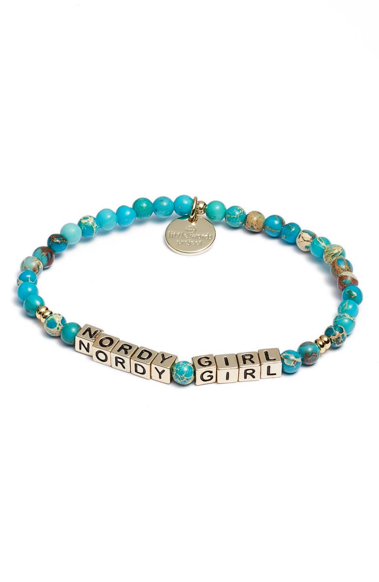 LITTLE WORDS PROJECT Nordy Girl Bracelet, Main, color, EMPERORS STONE GOLD