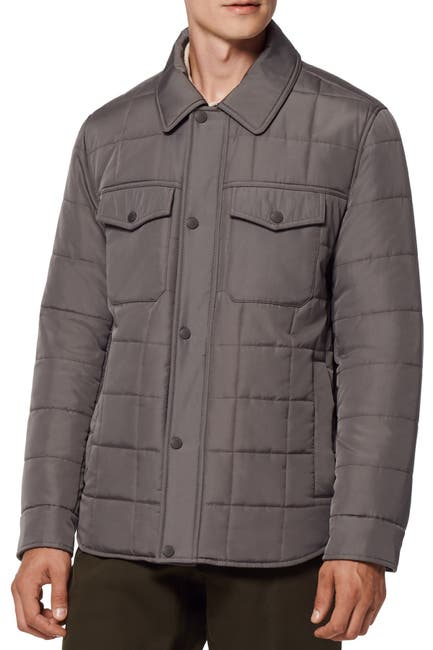 Image of Andrew Marc Archer Quilted Camp Jacket