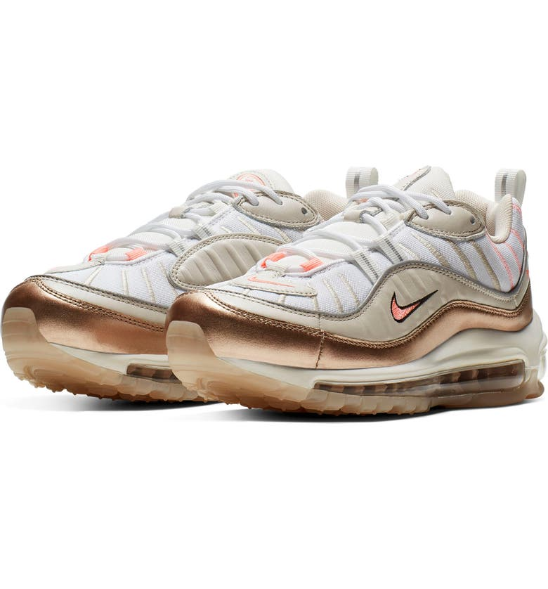 premium selection 73f24 60c95 Air Max 98 Metallic Sneaker