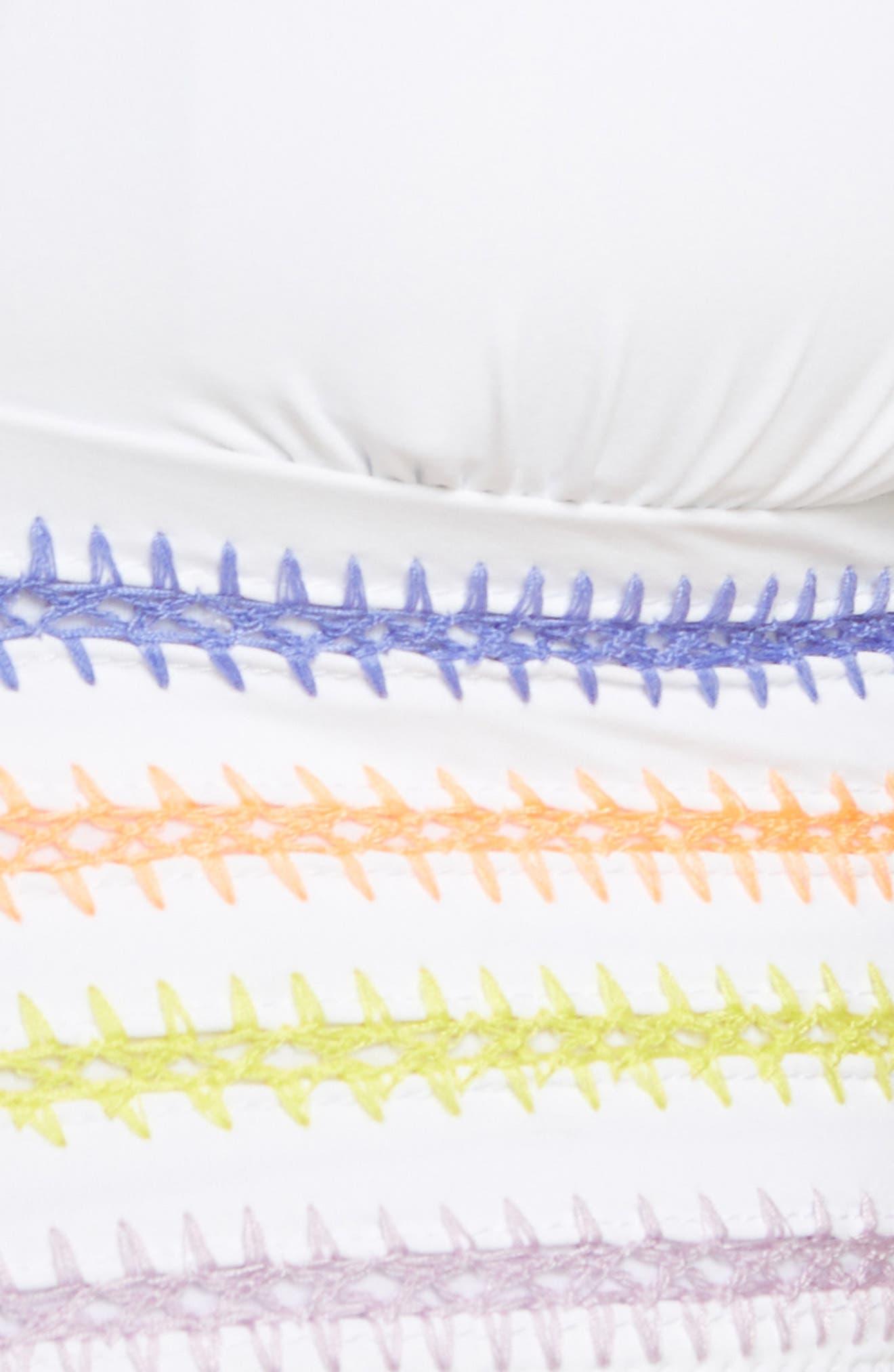 ,                             Kokomo Bikini Top,                             Alternate thumbnail 6, color,                             WHITE