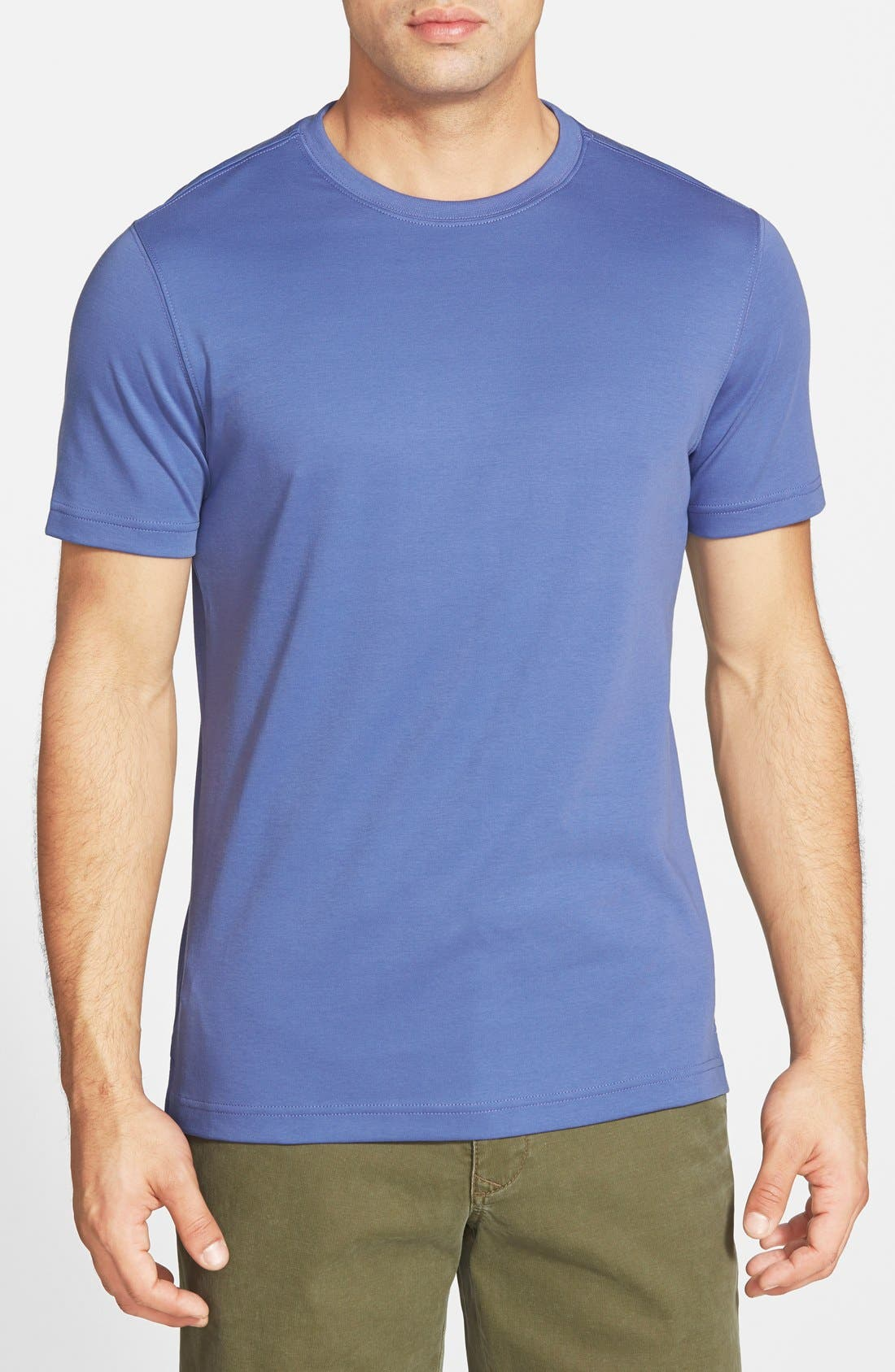 ,                             Georgia Crewneck T-Shirt,                             Main thumbnail 401, color,                             555