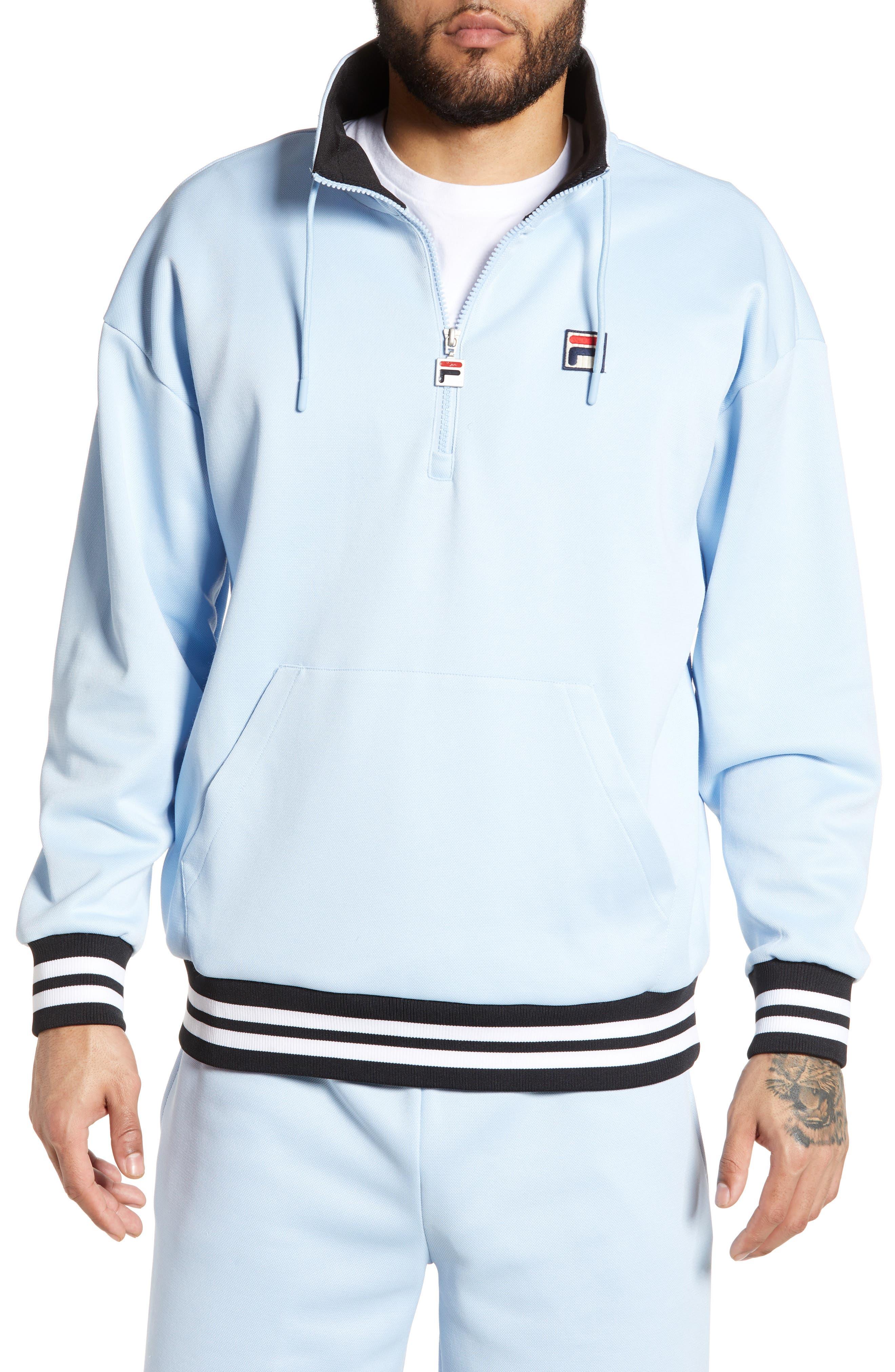 Fila Cole Half Zip Pullover, Blue